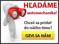 Hladame automechanika